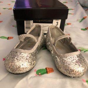 Ralph Lauren ballet slippers